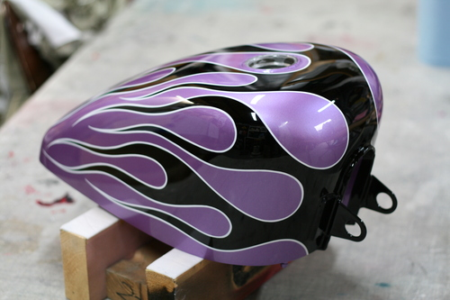 Harley Davidson sportster タンク