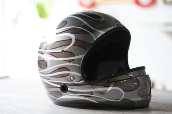 競艇用ヘルメット カスタムペイント