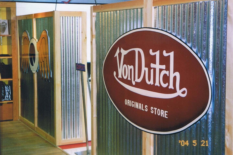 Vondutch正規代理店サイン