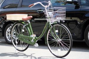 オリジナルペイント自転車