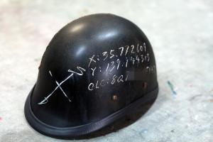 エイジングペイント ヘルメット