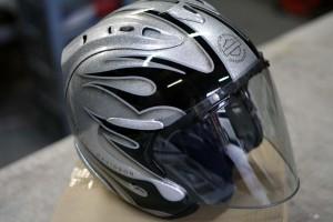 2015 FLHXSE ストリートグライド ヘルメット ペイント