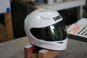 SHOEI Z-7 フルフェイスヘルメット ピンストライプ