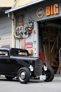 FORD 1932 DEUCE COUPE サインペイント
