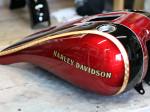 Harley Davidson FLS カスタムペイント