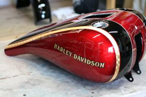 Harley Davidson FLS CUSTOM PAINT