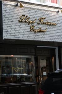 Goldleafsigns 3DLETTER  <Lloyd Footwear England>